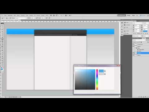 Adobe Photoshop CS5 – Youtube Design erstellen! [Mit Vorlage]