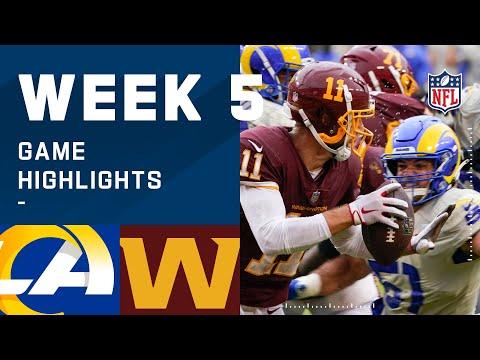 Rams vs. Washington Football Team Week 5 Highlights | NFL 2020