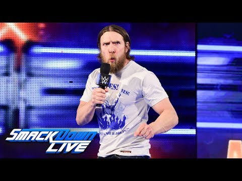 Video Daniel Bryan issues WrestleMania challenge to Kevin Owens & Sami Zayn:SmackDown LIVE, March 27, 2018 download in MP3, 3GP, MP4, WEBM, AVI, FLV January 2017