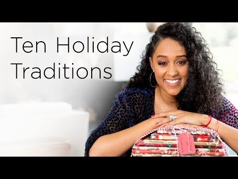 Tia Mowry's Top 10 Family Holiday Traditions| Quick Fix