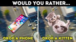 Video WOULD YOU RATHER? 13 HARDEST CHOICES TO TEST YOUR BRAIN MP3, 3GP, MP4, WEBM, AVI, FLV Maret 2019