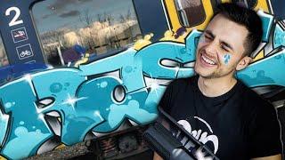 15 yo Painted Graffiti on TRAIN!