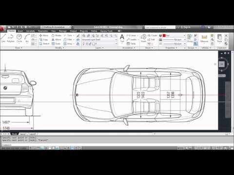 Importing - In this tutorial for AutoCAD I show you how to insert/import an image into AutoCAD, how to scale the image and a tip on using polylines to draw over the image.