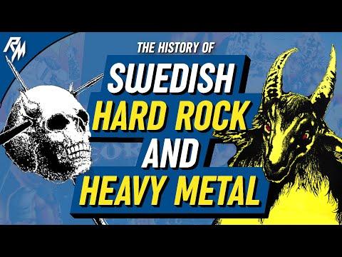 THE HISTORY OF SWEDISH HARD ROCK AND HEAVY METAL (HEAVY METAL DOCUMENTARY) 1970-1989
