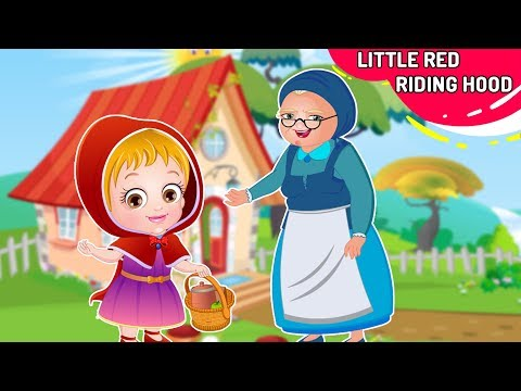 लिटिल रेड राइडिंग हुड Kahani | Little Red Riding Hood Story In Hindi By Hindi Fairy Tales