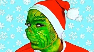 Video THE GRINCH MAKEUP TUTORIAL! MP3, 3GP, MP4, WEBM, AVI, FLV April 2018