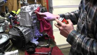 8. Skidoo Rev 800 clean power valves Episode 9