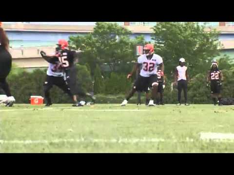 bengals - CINCINNATI -- During the three weeks of OTA's, like all NFL teams, the Bengals are not allowed to wear pads or have live contact which makes the goals for th...