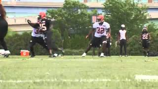 CINCINNATI -- During the three weeks of OTA's, like all NFL teams, the Bengals are not allowed to wear pads or have live contact which makes the goals for ...