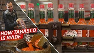 How the Tabasco Factory Makes 300,000 Bottles of Hot Sauce Per Day — Cult Following by Eater