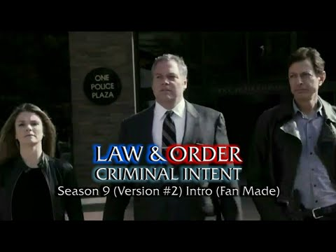 Law & Order: Criminal Intent: Season 9 (Version #2) Intro (Fan Made)