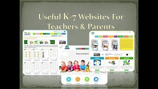 Useful Education Websites For K-7 kids, Parents & Teacher Resources.http://www.kidsmathtv.com/https://eworkbooks4kids.com/http://www.math4childrenplus.com/http://ecosystemforkids.com/FREE worksheets  Games  Quizzes  & more. Each website apart from the second contains free materials. Content is of premium quality, reflecting time and effort put into the conception. Visit each website from the links above.