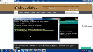 In this video tutorial you will learn about installation procedure of git using  chocolaty in windows operating systemDon't forget to subscribe TechSiragugalWebsite :  http://www.techsiragugal.com/More Videos: https://www.youtube.com/c/TechSiragugalFacebook: https://www.facebook.com/techsiragugalGoogle Plus: https://plus.google.com/u/0/108349254874239693267/posts