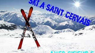 Saint-Gervais-les-Bains France  city photo : Ski a Saint Gervais Les bains avec le Skieur F-Mars 2016