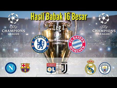 Hasil liga champion tadi malam - Chelsea vs Bayern muchen || Napoli vs Barcelona