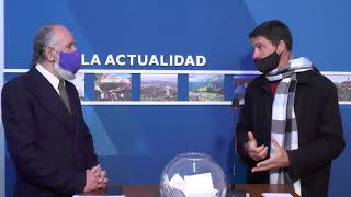 DECLARACIONES DEL PTE DEL CONCEJO: VIDEO CON NOTA A PANCHO GRAMAJO