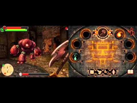 fighting fantasy the warlock of firetop mountain psp youtube
