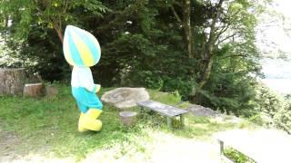 岩村の城下町からかけっこ競争だ!編