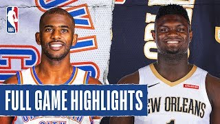THUNDER at PELICANS | FULL GAME HIGHLIGHTS | February 13, 2020