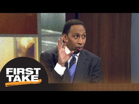 Stephen A. Smith reveals his problem with Bleacher Report's top 10 NBA players   First Take   ESPN (видео)