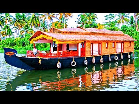 Video Beautiful Alleppey Houseboats - Kerala, India download in MP3, 3GP, MP4, WEBM, AVI, FLV January 2017