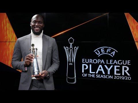 ROMELU LUKAKU   UEFA EUROPA LEAGUE PLAYER OF THE SEASON 2019/20 🥇⚫🔵👏🏻 [SUB ITA]
