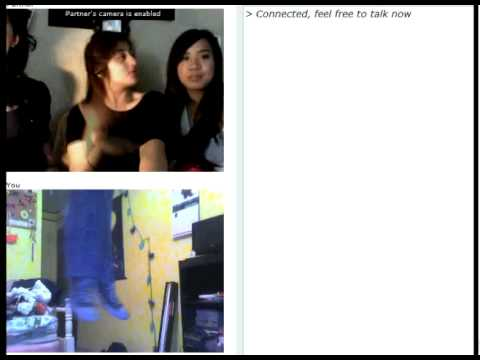 The Hanging Woman - Look at their reactions! Royalty free music created by: http://www.youtube.com/user/rickvanman (BTW, Chatroulette is like Russian Roulette........ only inste...