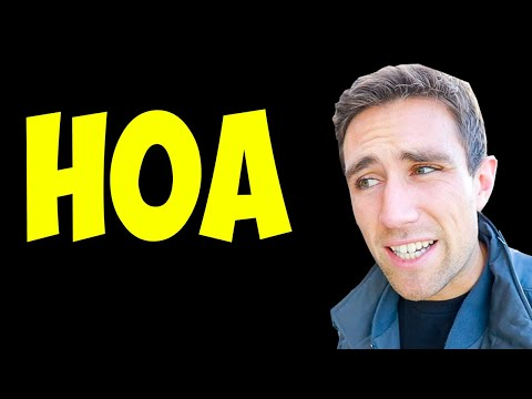 5 Things NO ONE Tells you about HOAs.