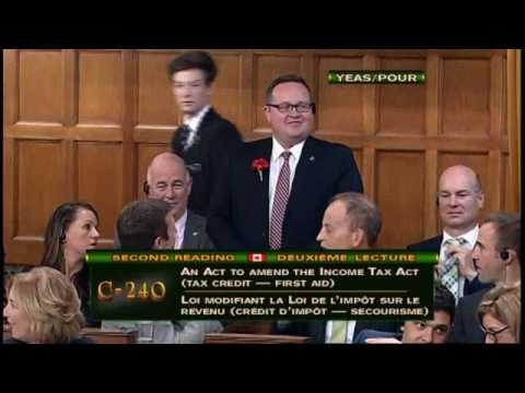 Bryan May's Private Member's Bill Passes Second Reading