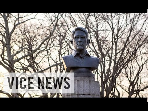 Vice News Daily: Snowden Statue Removed from Brooklyn Park