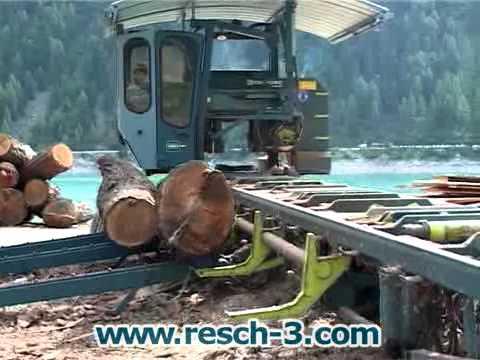 Entrada de troncos