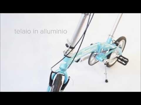 BIWHEEL BOATING bici pieghevole ultraleggera folding bike 9kg
