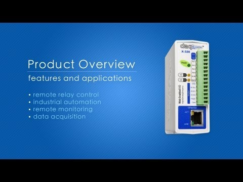 Overview of ControlByWeb™ Products