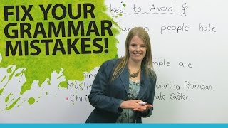 Video Fix Your English Grammar Mistakes: Talking about People MP3, 3GP, MP4, WEBM, AVI, FLV Juli 2019