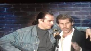 Ron Perlman and Rick Overton at An Evening At The Improv