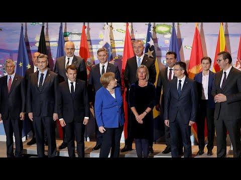Βερολίνο: Κοινό μέτωπο Μέρκελ-Μακρόν για τη διένεξη Σερβίας-Κοσόβου…