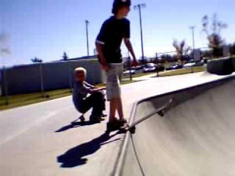 Shawn at Amarillo skate park