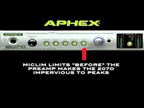 Aphex 207 D Tube Pre Training Video 