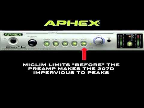 Aphex 207D Training Video