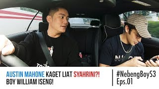 Video Austin Mahone kaget lihat Syahrini?! Boy William Iseng! - #NebengBoy S3 Eps. 01 MP3, 3GP, MP4, WEBM, AVI, FLV April 2019