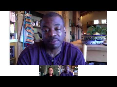 Hollywood.com - Hollywood.com's 'Burning Questions' Hangout With LeVar Burton.