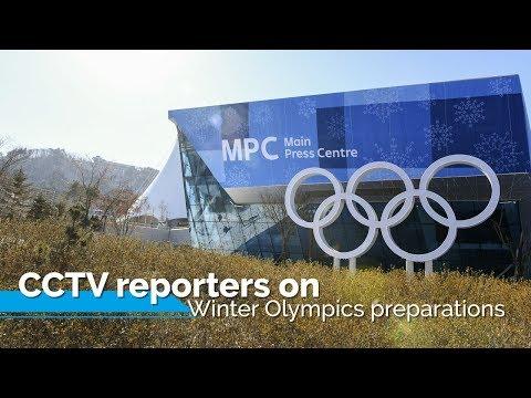 Live: CCTV/CGTN reporters on Winter Olympics preparations冬奥来临-央视冬奥工作区抢先看