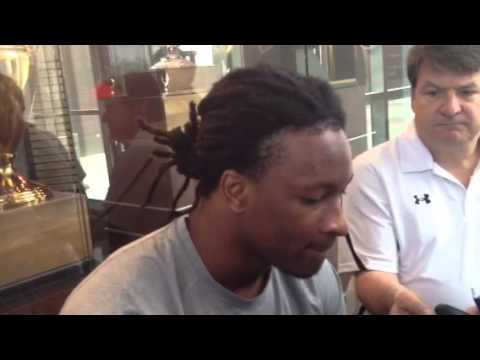 Todd Gurley Interview 4/5/2014 video.