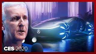 James Cameron made an Avatar 2 concept car with Mercedes-Benz: Vision AVTR by Roadshow