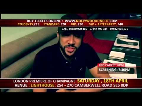 Majid Michel To Attend The London Film Premiere Of Champagne - 18th April 2015