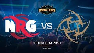 NRG vs NiP - DH MASTERS Stockholm - de_train [CrystalMay, SSW]