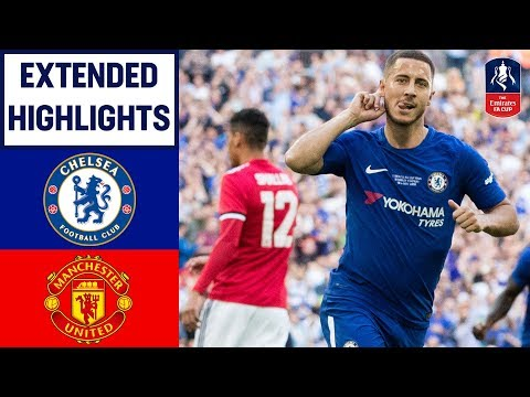 Chelsea 1-0 Manchester United | Hazard Wins it for Chelsea! | Emirates FA Cup Final 2017/18