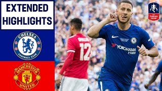 Video Chelsea 1-0 Manchester United | Hazard Wins it for Chelsea! | Emirates FA Cup Final 2017/18 MP3, 3GP, MP4, WEBM, AVI, FLV Desember 2018