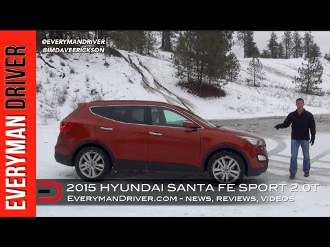 SNOWY Off-Road Review: 2015 Hyundai Santa Fe Sport on Everyman Driver