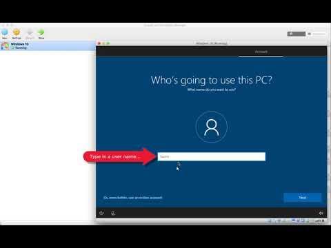 Install a Windows 10 v.1703 VM in Oracle VirtualBox